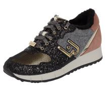 Sneaker Wedges 'Gigi 02' aus Veloursleder