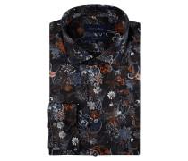 Modern Fit Hemd mit floralem Muster