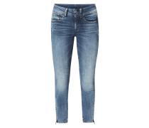 Stone Washed Super Skinny Fit 5-Pocket-Jeans