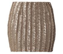 Minirock mit Pailletten-Besatz