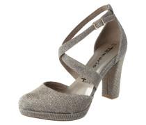 Sandalette mit Glitter-Effekt