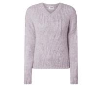 Pullover mit V-Ausschnitt Modell 'Valentia'