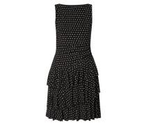 Kleid mit Volantbesatz im Stufen-Look