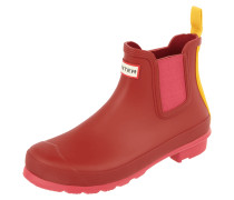 Chelsea Boots aus Gummi im Colour Blocking