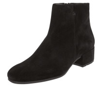 Booties aus Veloursleder