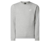 Standard Fit Sweatshirt mit Logo-Stickerei
