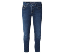 Coloured Straight Fit Jeans