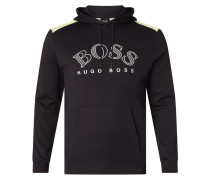 PLUS SIZE Hoodie mit recycelter Baumwolle Modell 'Soody'