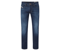 Regular-Straight Fit Jeans mit Stretch-Anteil