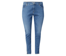 PLUS SIZE Shaping Skinny Fit Jeans mit Stretch-Anteil