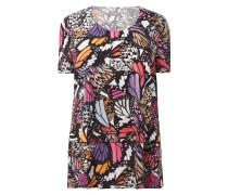 PLUS SIZE - Blusenshirt mit Schmetterlingsmuster