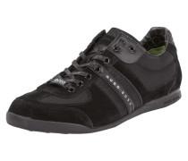 Sneakers mit Kontrastbesatz