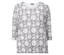 PLUS SIZE - Shirt mit Dreiviertel-Ärmeln