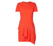 Kleid mit abnehmbarem Volantbesatz