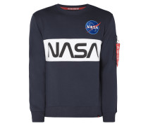 Sweatshirt mit NASA-Print