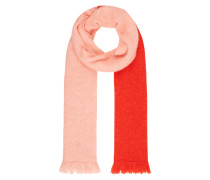 Schal im zweifarbigen Design