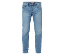 Double Stone Washed Comfort Fit Jeans