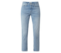 Slim Tapered Fit Jeans aus Baumwolle Modell 'Page'
