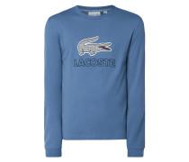 Regular Fit Sweatshirt mit Logo-Applikation