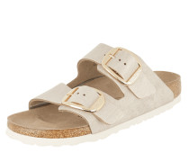 Sandalen 'Arizona' in Metallic-Optik