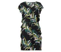 Strandkleid mit floralem Muster