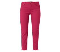 Coloured Slim Fit Ankle Cut Jeans