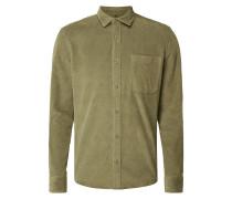 Tailored Fit Freizeithemd aus Cord