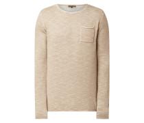 Pullover mit Brusttasche