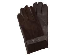 Handschuhe aus Lammleder und Ziegenvelours
