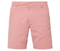 Straight Fit Chinoshorts mit Stretch-Anteil
