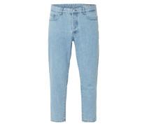 Stone Washed Jeans aus reiner Baumwolle