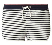 Shorts aus Frottee mit Streifenmuster