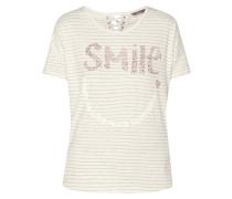 Shirt mit Message aus Ziersteinen