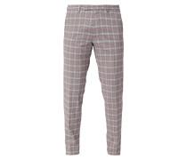 Super Slim Fit Anzug-Hose mit Karomuster