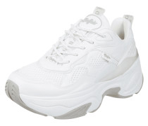 Chunky Sneaker in Leder-Optik
