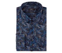 Modern Fit Hemd mit Paisley-Dessin