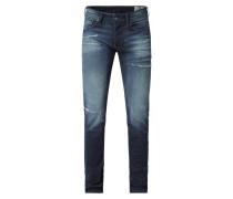 Skinny Fit Jeans mit Stretch-Anteil Modell 'Sleenker'