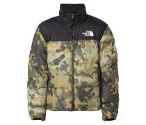 'Men's 1996 Retro Seasonal Nuptse Jacket Camouflage' mit herausnehmbarer Kapuze