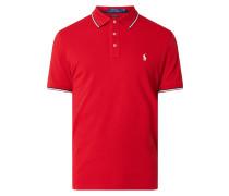 Custom Slim Fit Poloshirt mit Logo-Stickerei