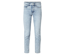 Bleached Skinny Fit 5-Pocket-Jeans