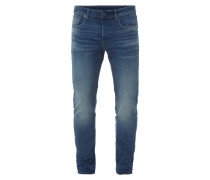 Slim Fit Jeans mit Vintage Wash