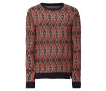 Pullover mit Argylemuster