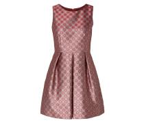 Kleid aus Brokat mit ornamentalem Muster
