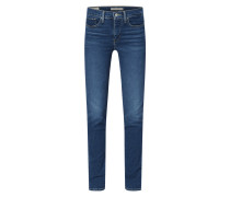 Shaping Slim Fit Jeans mit Stretch-Anteil