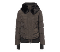 Queens Steppjacke mit abnehmbarer Kapuze