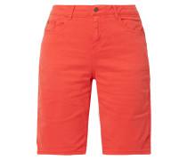 Coloured Jeansbermudas mit Zierstreifen