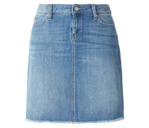 Straight Fit 5-Pocket-Jeansrock