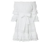 Off Shoulder Kleid mit Zierborten