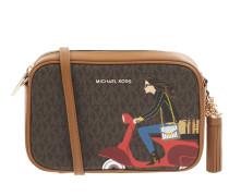 Crossbody Bag mit Logo-Muster Modell 'Jet Set'