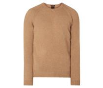Regular Fit Pullover aus reinem Kaschmir